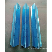 fluorescent light fixture metal cover aluminum